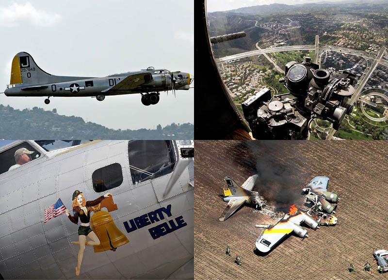 Крушение бомбардировщика времен Второй Мировой