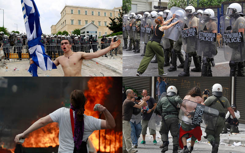 000067 Греческие демонстрации