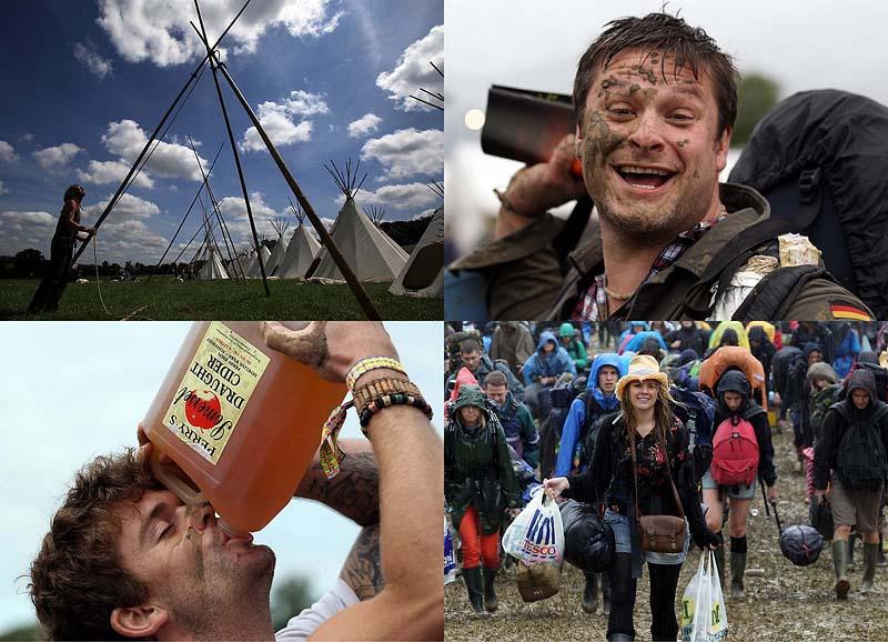 В Британии стартовал фестиваль Glastonbury 2011