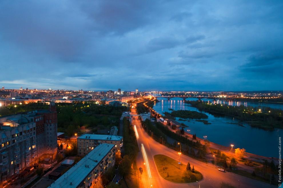 Красноярск с высоты