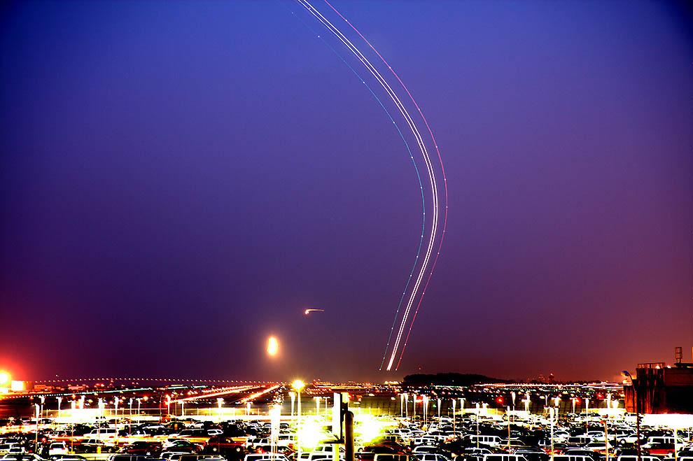 Длинная выдержка: Аэропорт