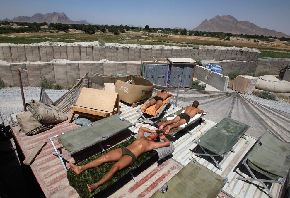 10159 Вывод американских войск из Афганистана