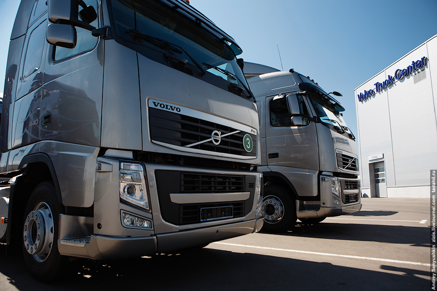 Отечественный автопром – Volvo Trucks