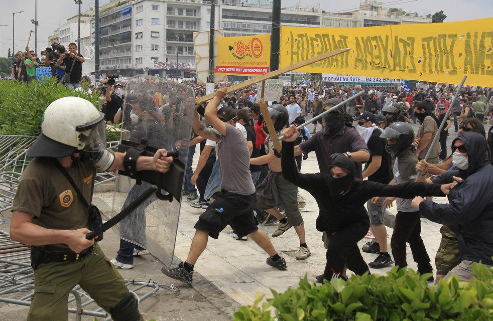 11130 Греческие демонстрации