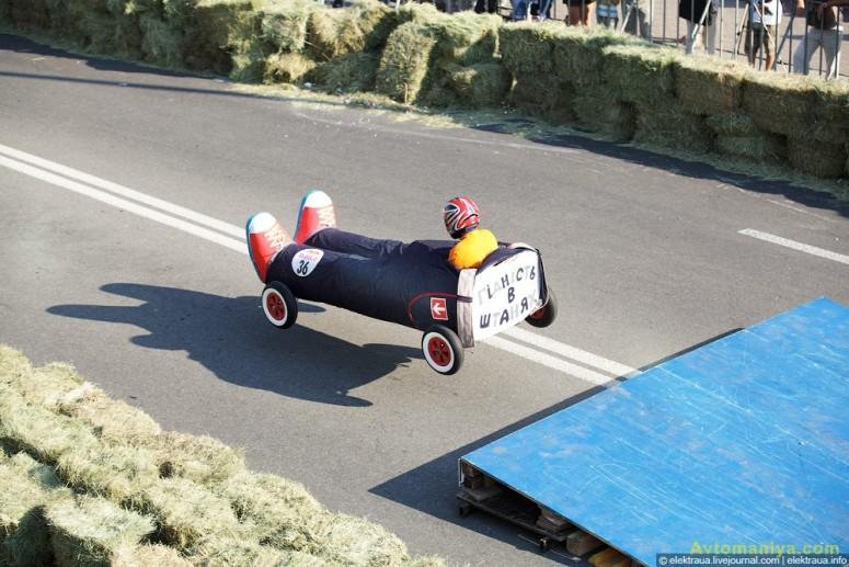 За кулисами Red Bull Ралли на Тарантасах: Киев 2011
