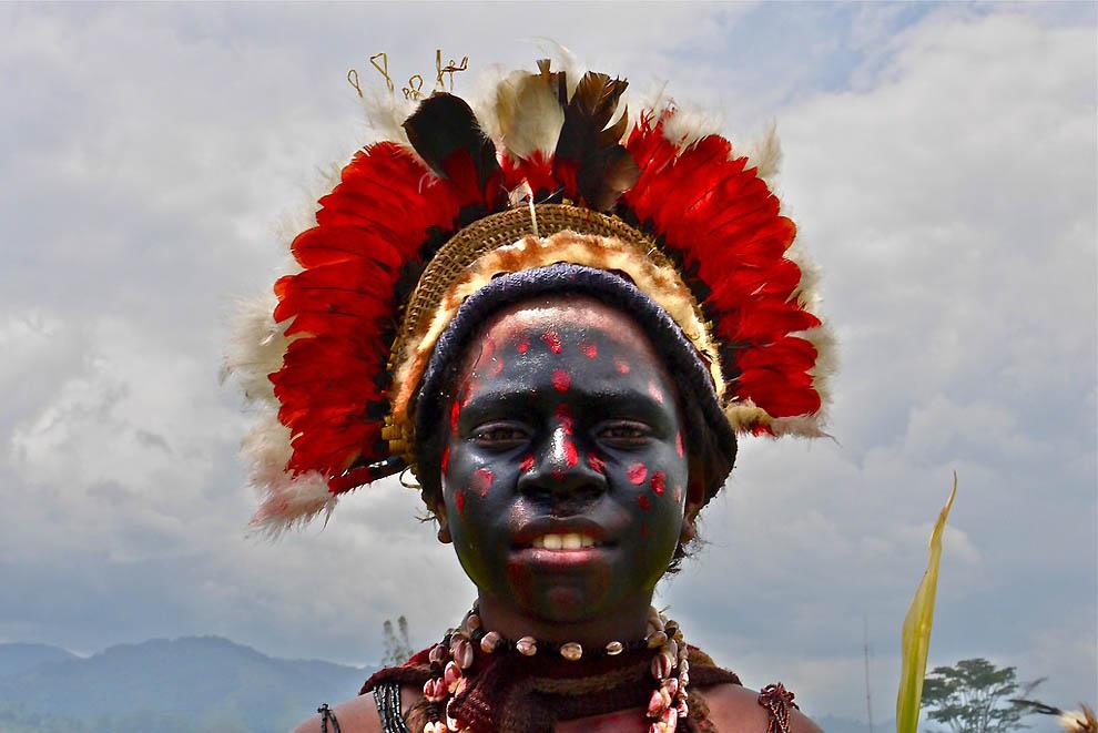 Папуасы из Новой Гвинеи