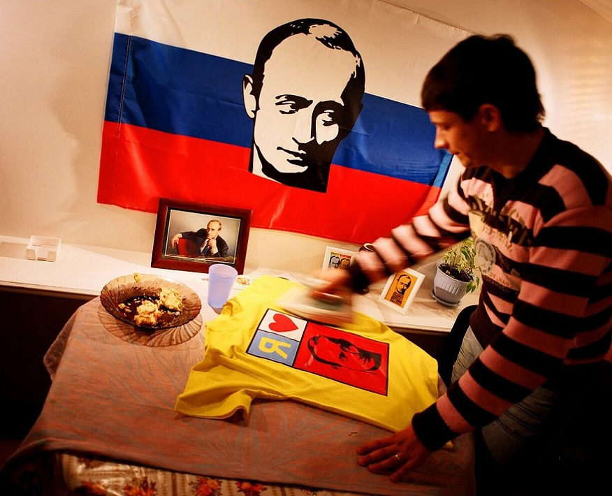 Российские фанаты Путина глазами венгерского фотографа