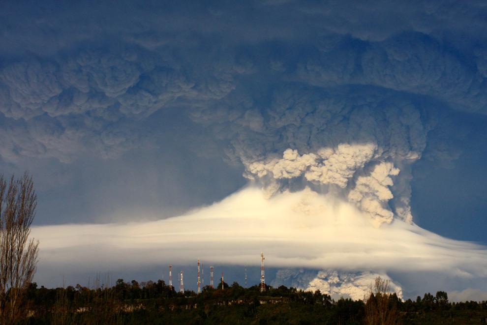 1353 Вулкан в Чили
