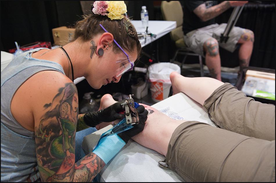 15110 Фестиваль татуировок в Торонто