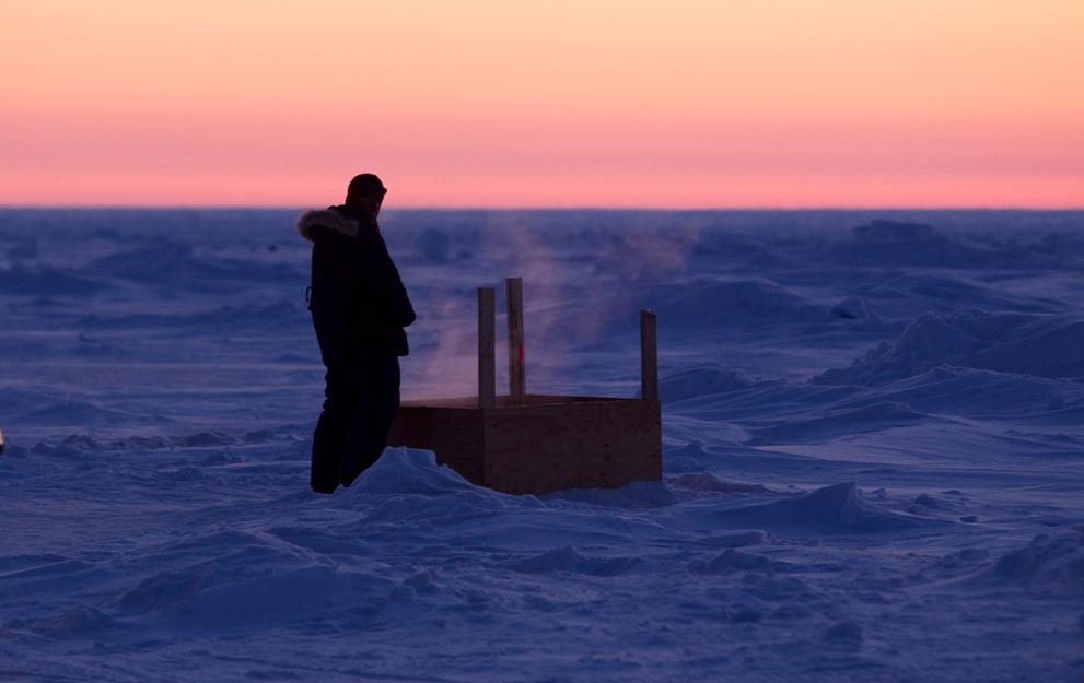 На полярной станции