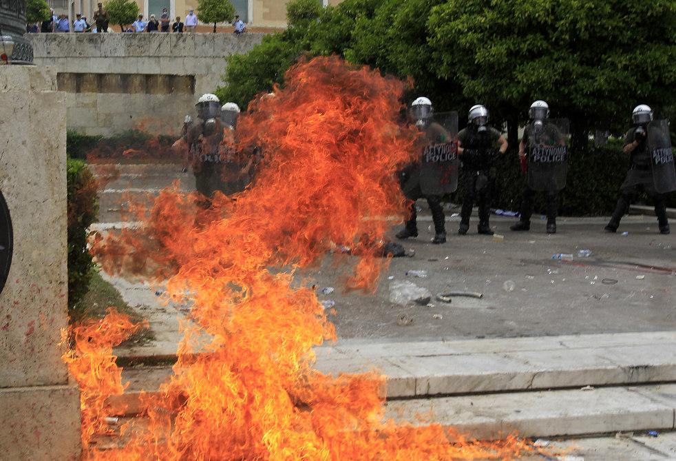 1680 Греческие демонстрации