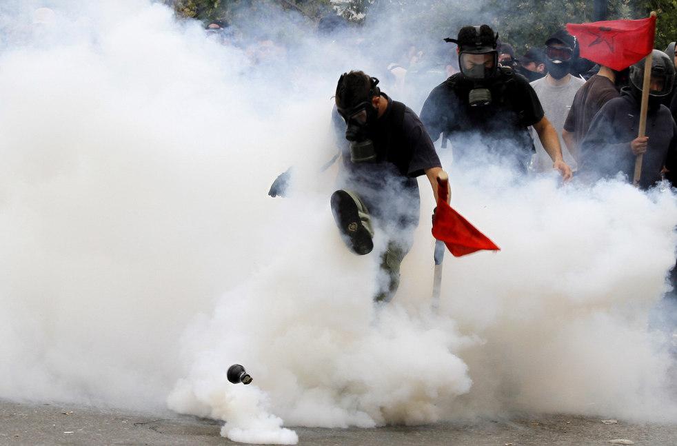 1777 Греческие демонстрации