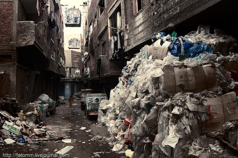 Город в городе: квартал мусорщиков вКаире