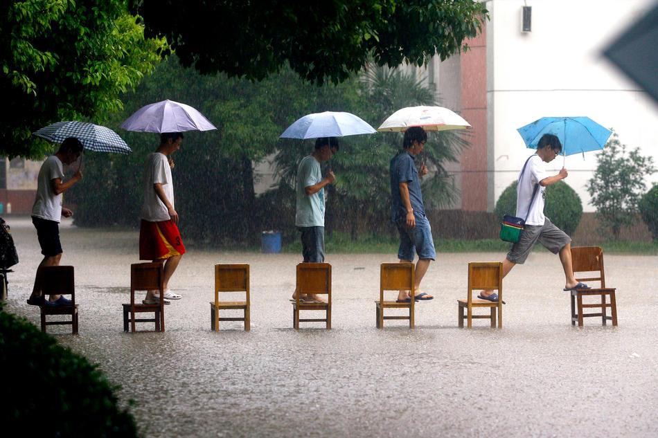 Наводнение вКитае