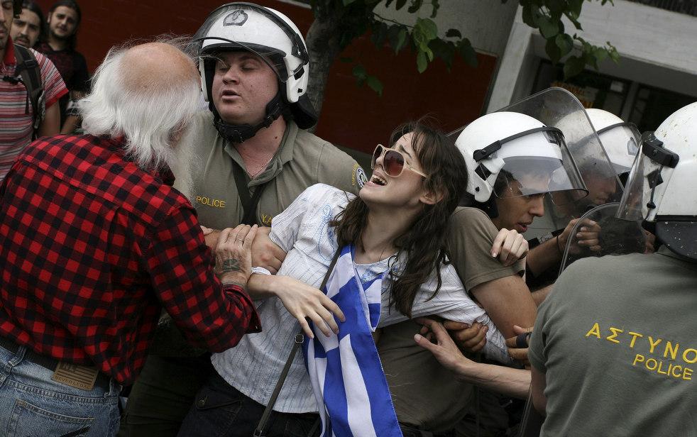 1969 Греческие демонстрации