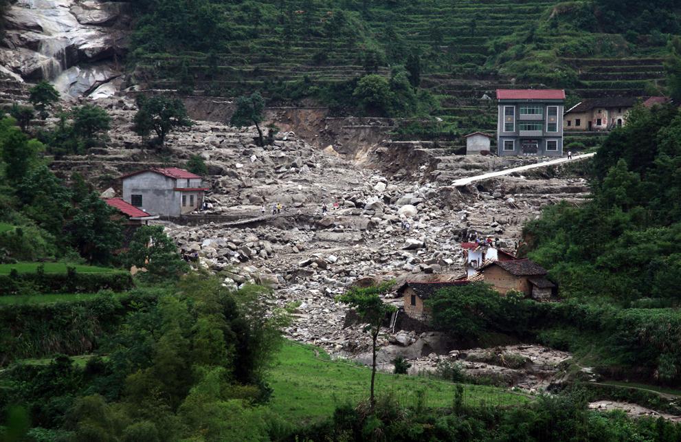 Наводнение после засухи в Китае
