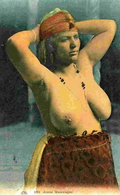 21 popup rendah erotika Arab awal abad 20