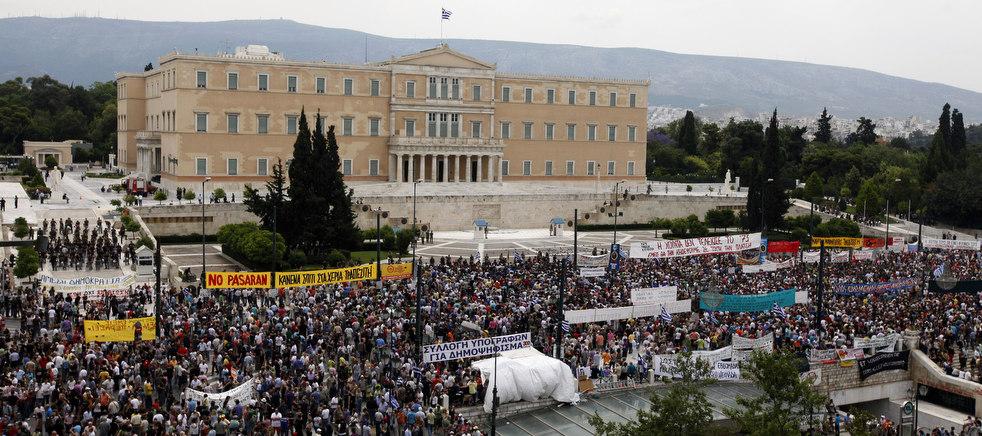 2266 Греческие демонстрации