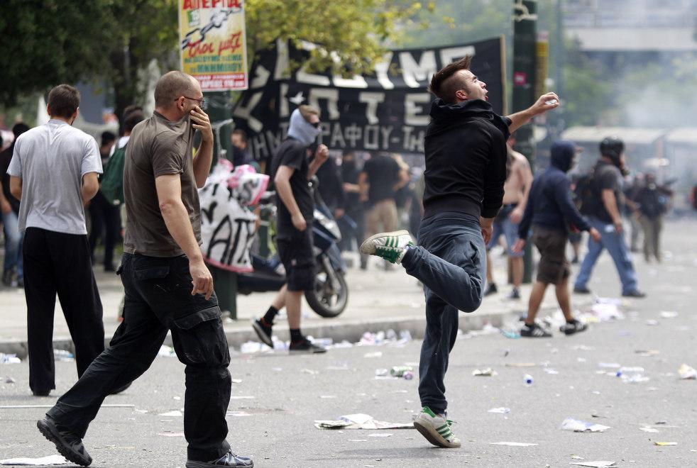 2267 Греческие демонстрации