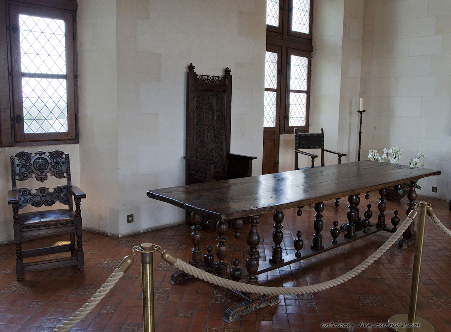 Замки Луары