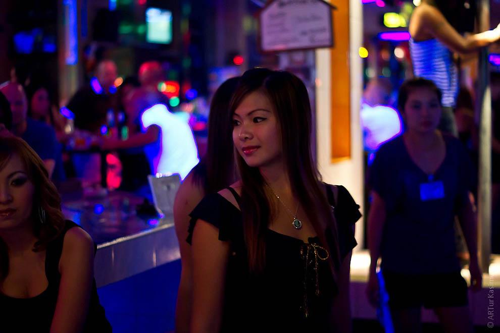Проституция в Таиланде. Ночная жизнь острова Пхукет. Часть 1