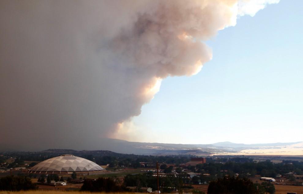 Лесные пожары в Аризоне