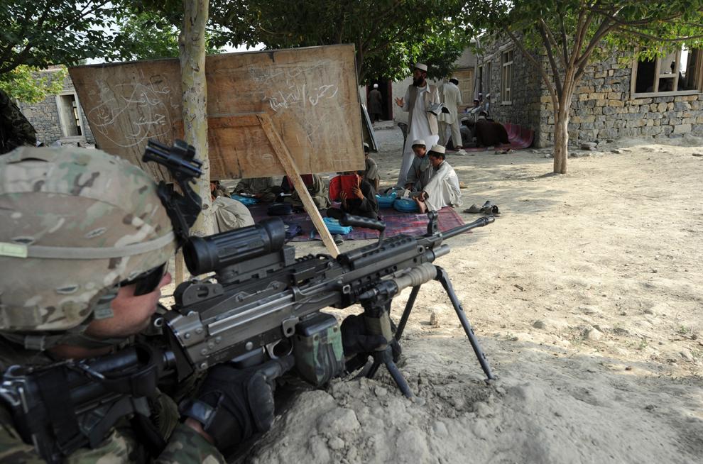 32103 Вывод американских войск из Афганистана