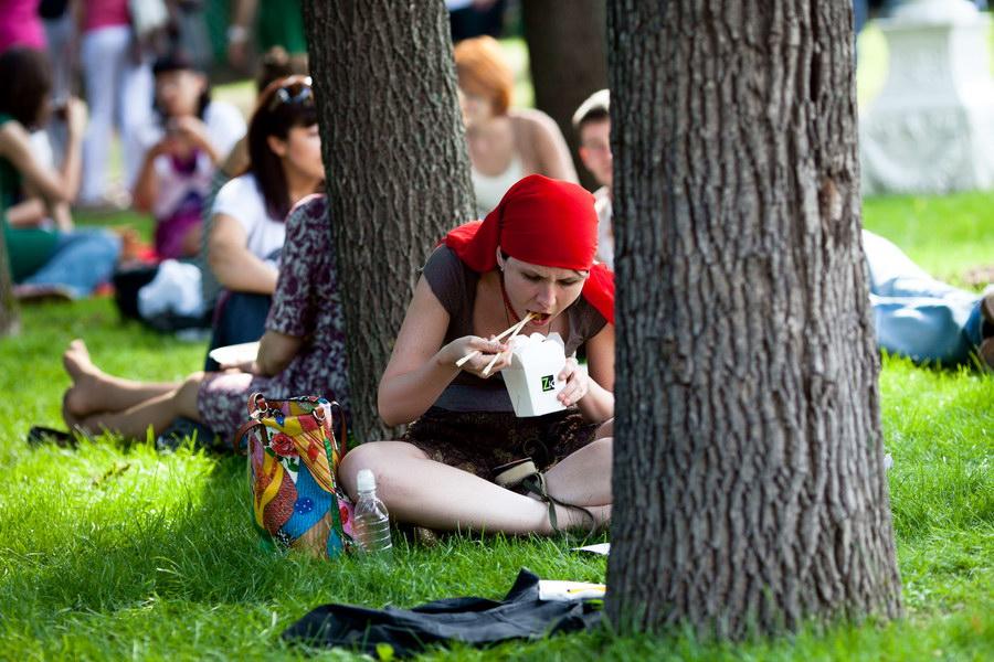 Фестиваль еды в саду Эрмитаж
