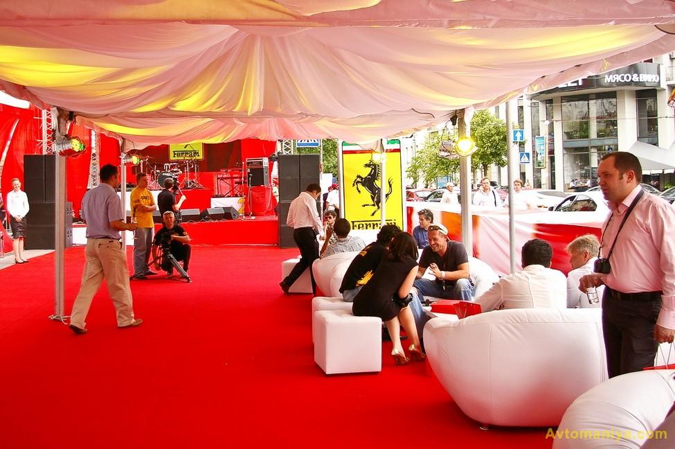 Новый дом Ferrari в Киеве: взгляд изнутри