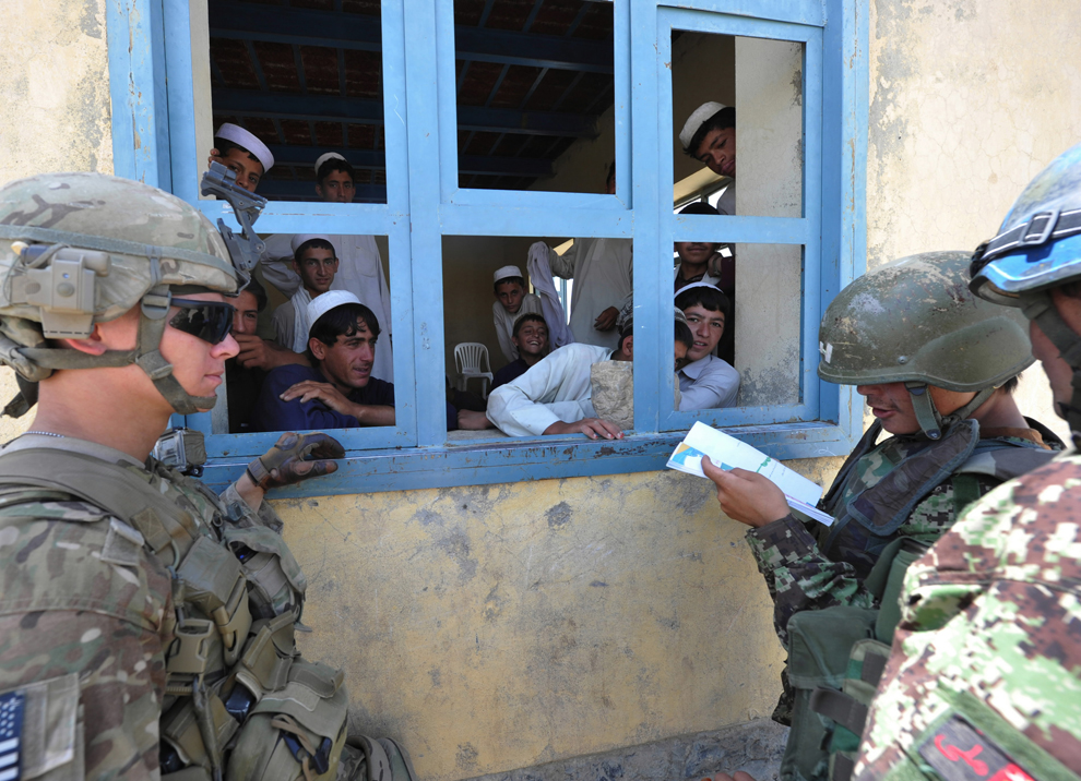 3458 Вывод американских войск из Афганистана