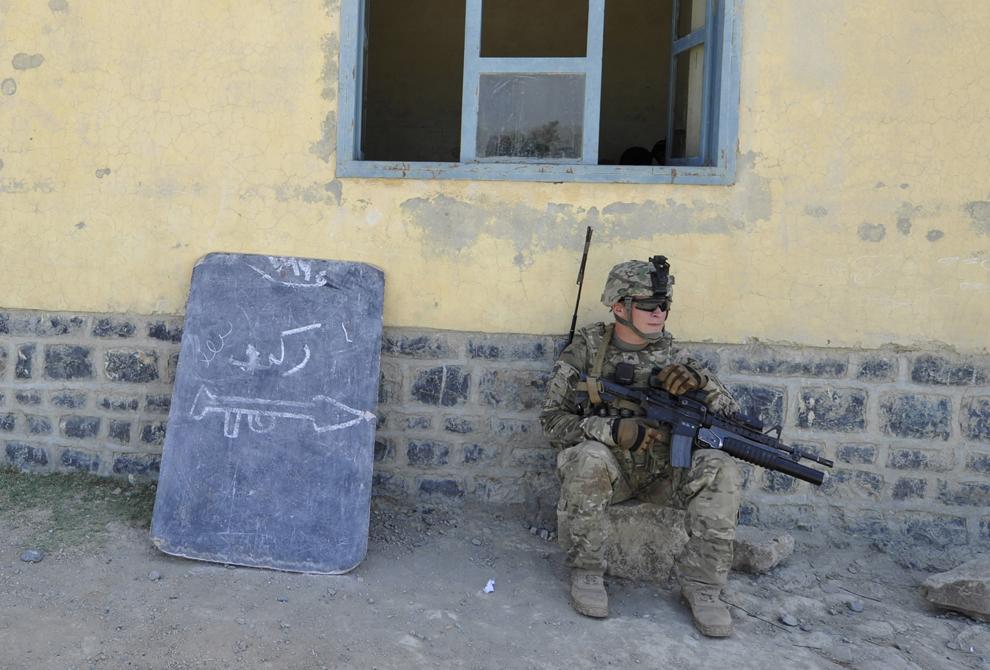 3550 Вывод американских войск из Афганистана