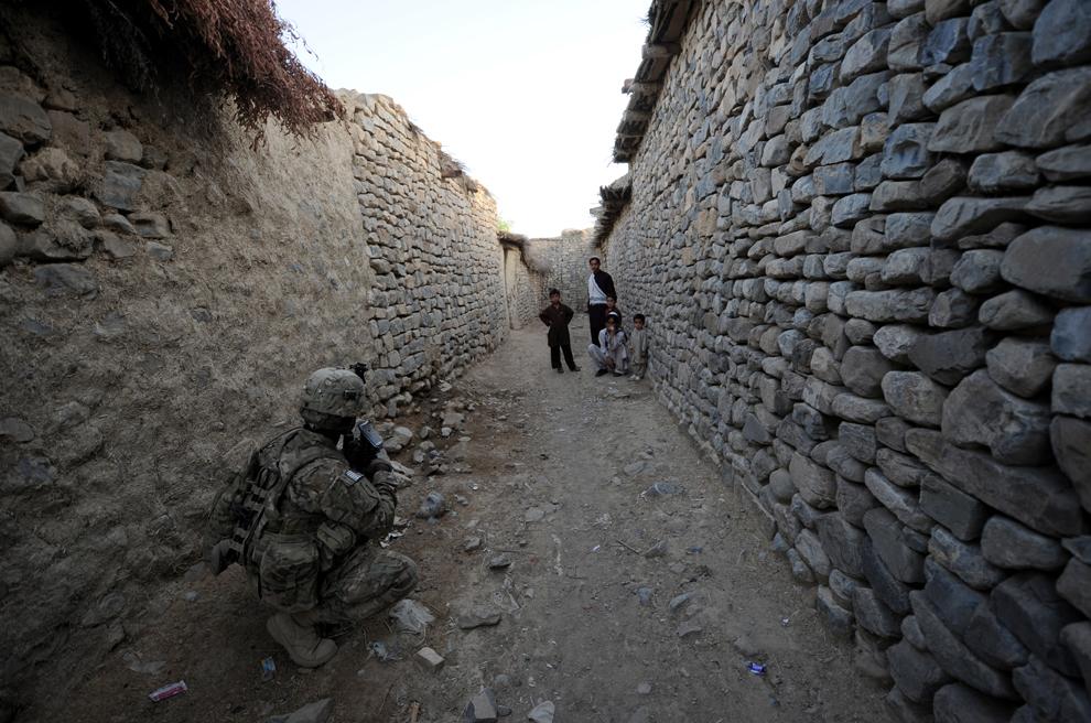 3937 Вывод американских войск из Афганистана