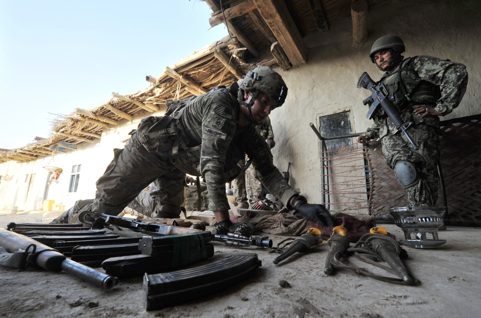 Знакомство Американскими Военными Из Афганистана