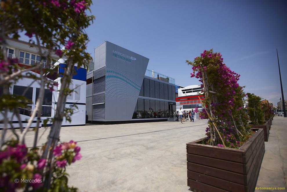 Спорт формула-1: Гран-при Европы 2011 (подготовка)