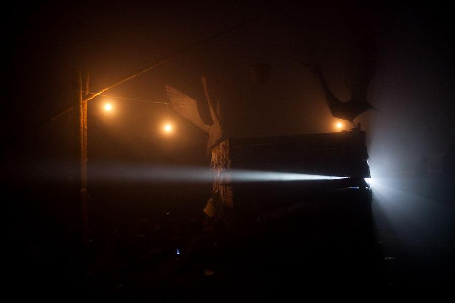 Пустые холмы 2011. Ночь