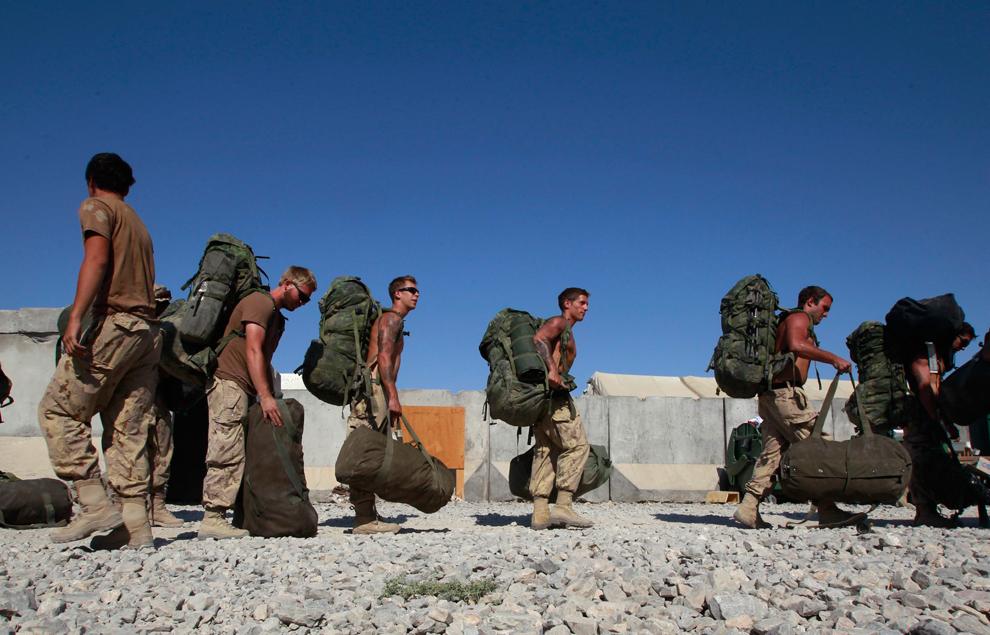 4334 Вывод американских войск из Афганистана