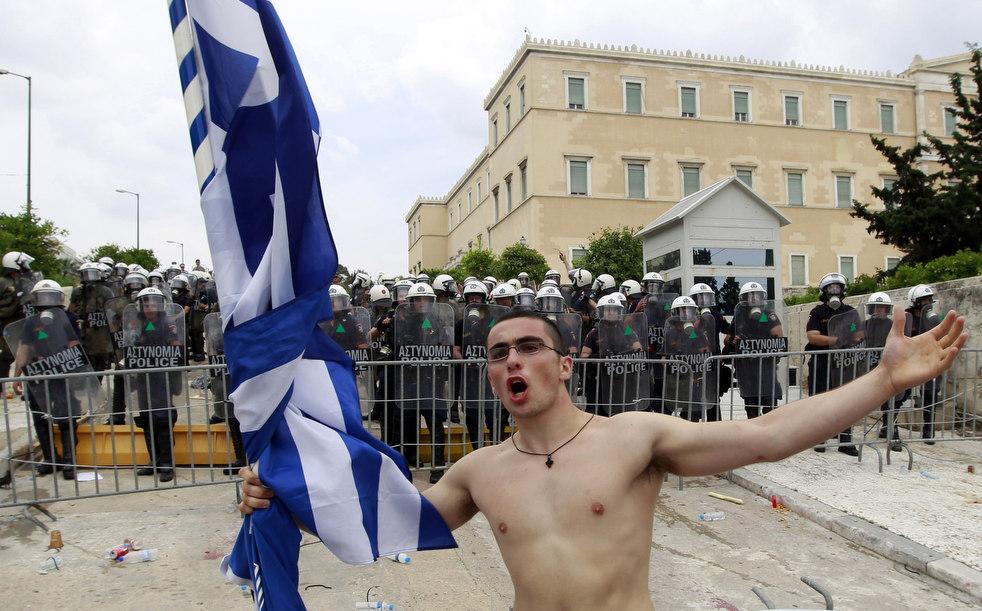 5121 Греческие демонстрации