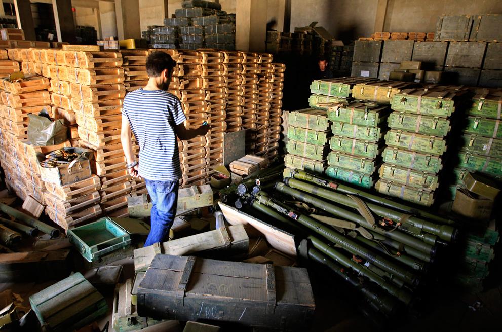 Оружие ливийских мятежников сделай сам