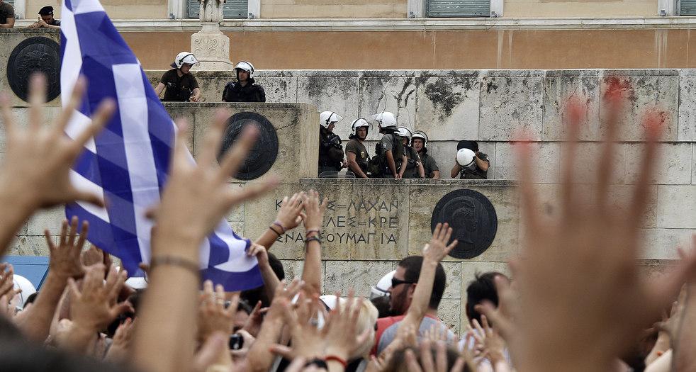 6116 Греческие демонстрации