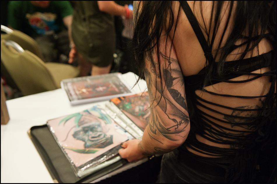 6150 Фестиваль татуировок в Торонто