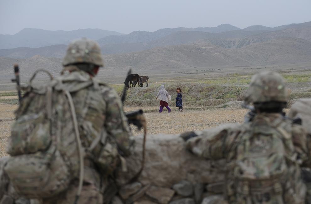 6180 Вывод американских войск из Афганистана