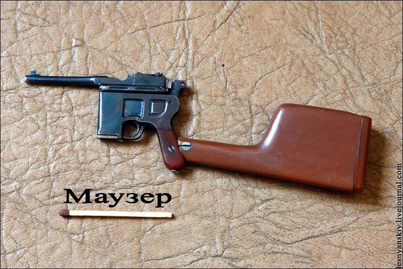 Миниатюрное оружие