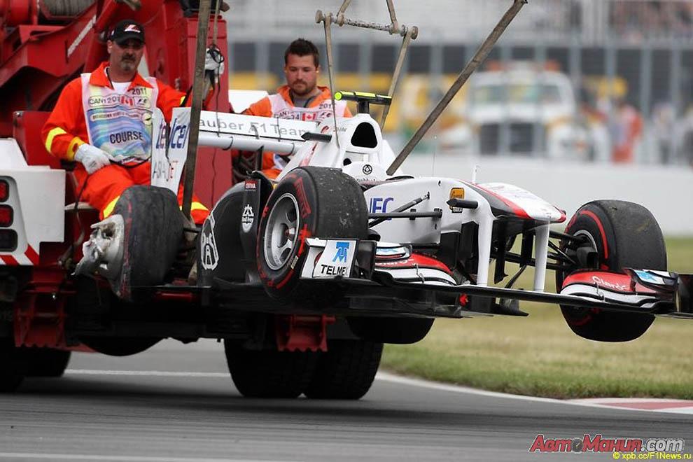 За кадром Гран-при Канады 2011: подготовка