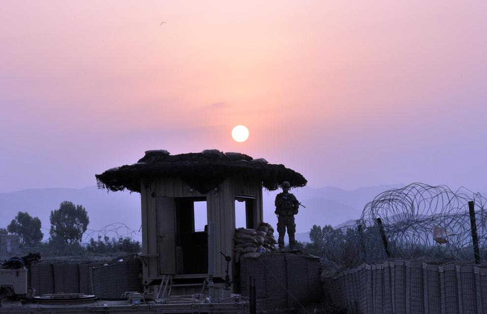7164 Вывод американских войск из Афганистана