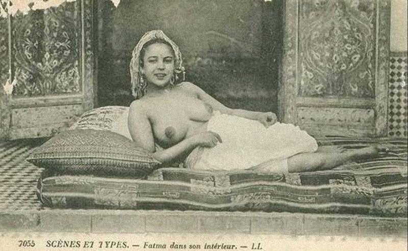 8 popup rendah erotika Arab awal abad 20