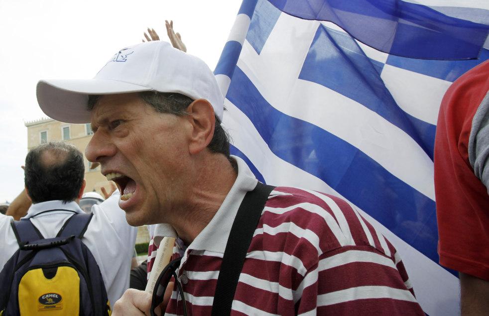 890 Греческие демонстрации
