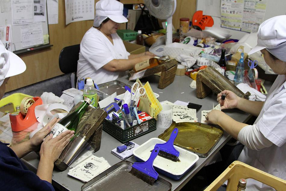 Производство саке в Японии