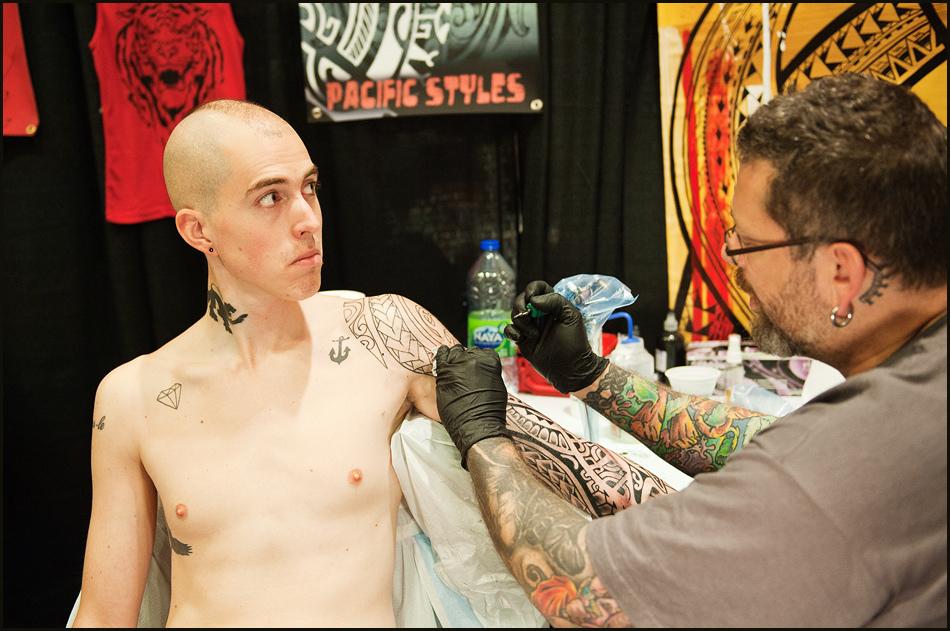 9123 Фестиваль татуировок в Торонто