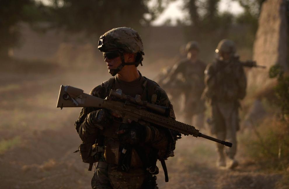 9151 Вывод американских войск из Афганистана
