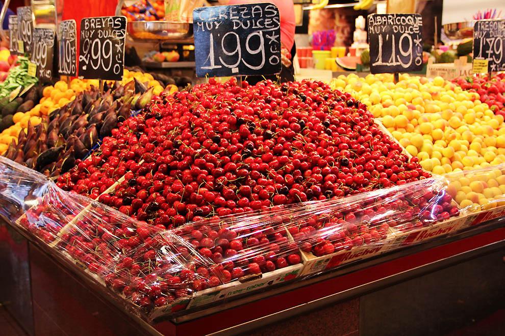 Колоритный рынок в Барселоне